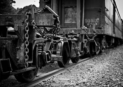 Photograph - Trains 18 by Niels Nielsen