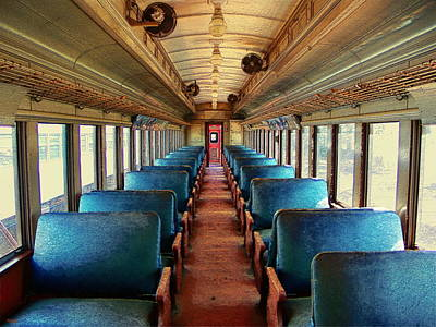 Photograph - Trains - Back In The Day by Glenn McCarthy