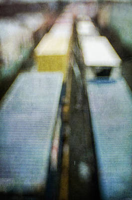 Photograph - Trains I by David Morel