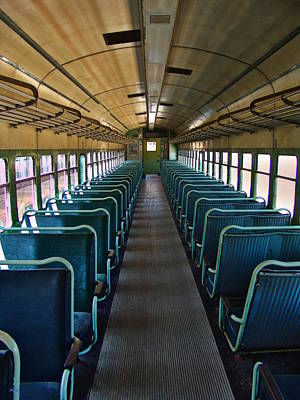 Photograph - Trains - The Passenger Car by Glenn McCarthy