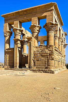 Photograph - Trajan's Kiosk On The Island Of Philae by Mark E Tisdale