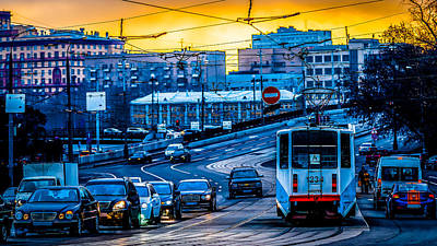 Tramway A Art Print