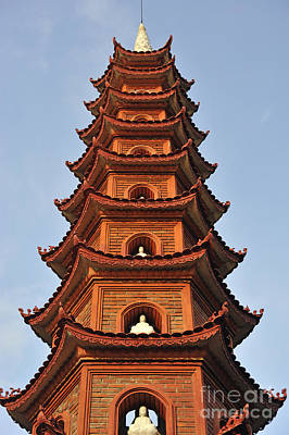 Photograph - Tran Quoc Pagoda In Hanoi by Sami Sarkis
