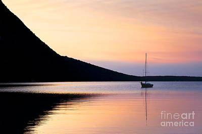 Photograph - Tranquil Lake Willoughby by Alan L Graham