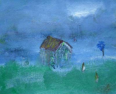 Painting - Tranquil by Mary Feeney