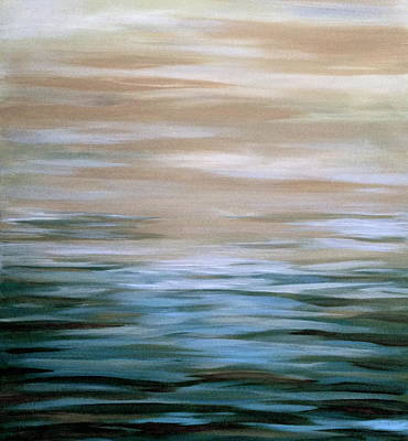 Tranquil Seas Art Print by Judith A Cahill