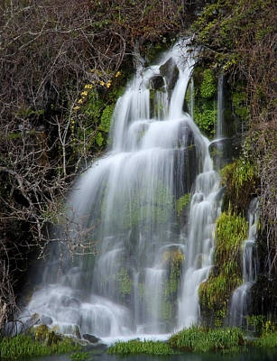 Photograph - Tranquil Waterfall by Athena Mckinzie