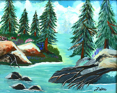 Painting - Tranquil Waters by Dina Jacobs
