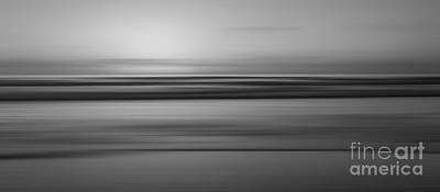 Tranquility 2 Bw Original by Michael Ver Sprill