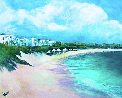 Painting - Tranquility Anguilla by Kandy Cross
