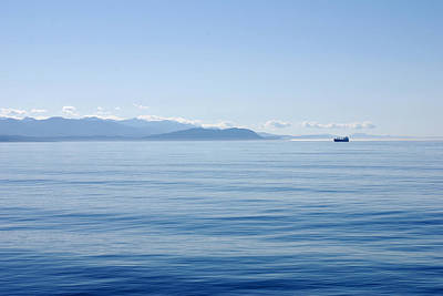 Photograph - Tranquility At Sea. Port Angeles Washington by Connie Fox