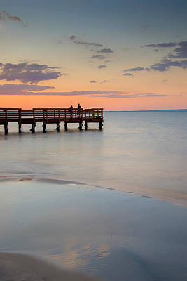 Photograph - Tranquility At The Bayshore by Gary Slawsky