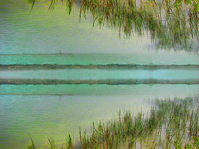 Tranquility Bay Print by Wendy J St Christopher