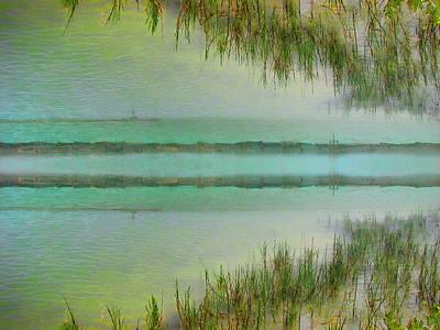 Corpus Christi Texas Digital Art - Tranquility Bay by Wendy J St Christopher