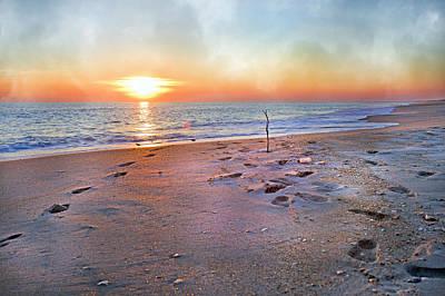 Tranquility Beach Art Print