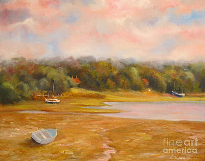 New Hampshire Artist Painting - Tranquility Beaulieu England by Beatrice Cloake