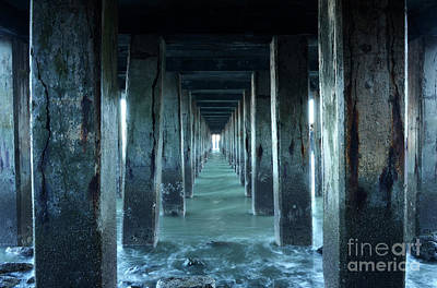 San Fransisco Photograph - Into The Blue Zone by Bob Christopher