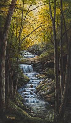 Tranquility Art Print by Kim Lockman