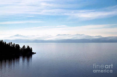 Photograph - Tranquility - Lake Tahoe by John Waclo