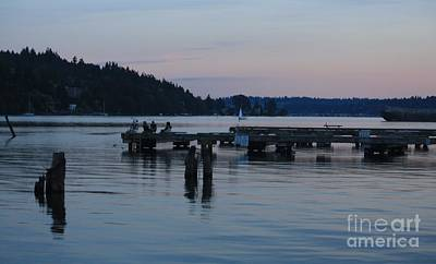 Photograph - Tranquility - Lake Washington by Amanda Holmes Tzafrir