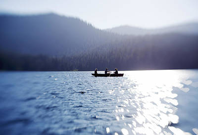 Photograph - Tranquility On The Lake by Crystal Cox