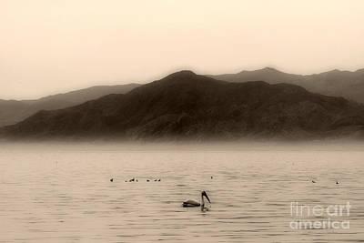 Large Sinks Photograph - Tranquility On The Salton Sea By Diana Sainz by Diana Sainz