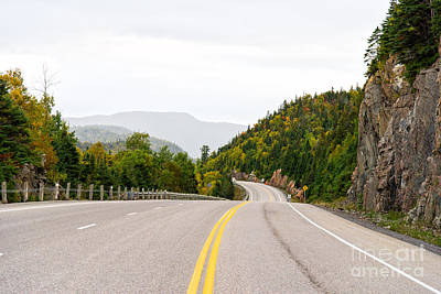 Photograph - Trans-canada Highway Through Lake Superior Park by Les Palenik