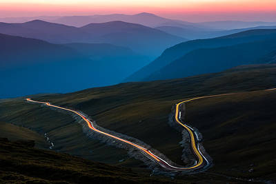 Art Print featuring the photograph Transalpina by Mihai Andritoiu