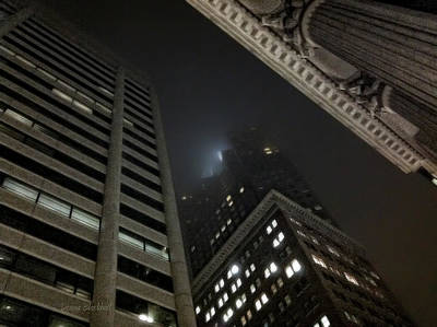 Photograph - Transamerica Fog by Donna Blackhall