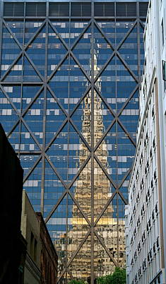 Photograph - Transamerica Pyramid Reflection Abstract by Michele Myers