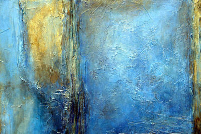 Textured Painting - Transcend Horizontal by Holly Anderson