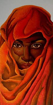 Painting - Transcendental Nubian by William Roby