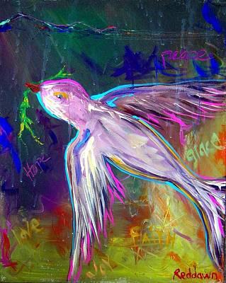 Transcending Art Print by Dawn Gray Moraga