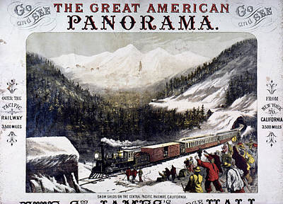 Destiny Painting - Transcontinental Railroad by Granger