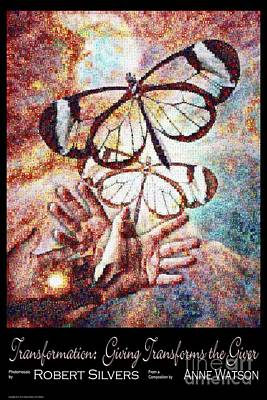 Transformation   Giving Transforms The Giver Art Print