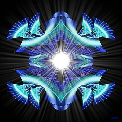 Digital Art - Transformer 10 by Brian Johnson