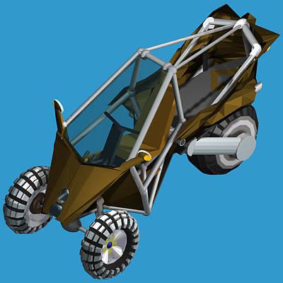 Transformer Transporter Buggy Transform Bakkie Mode Original by Chris  Morton