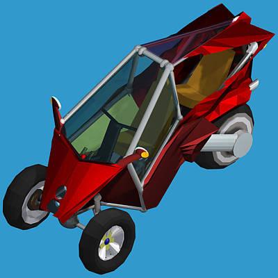 Transformer Transporter Convertible Mode Original by Chris  Morton