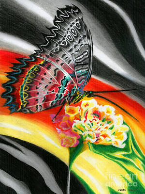 Transforming Winds      Art Print