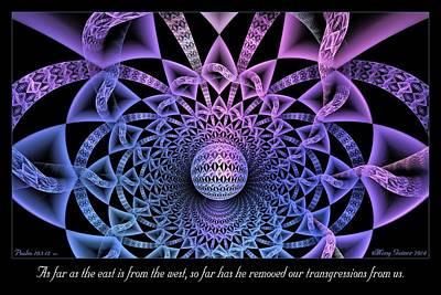Digital Art - Transgressions by Missy Gainer