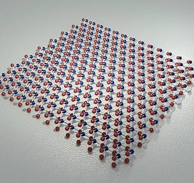 Semiconductor Photograph - Transition Metal Dichalcogenide Monolayer by Robert Brook
