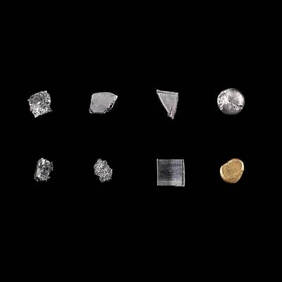 Platinum Photograph - Transition Metals by Science Photo Library