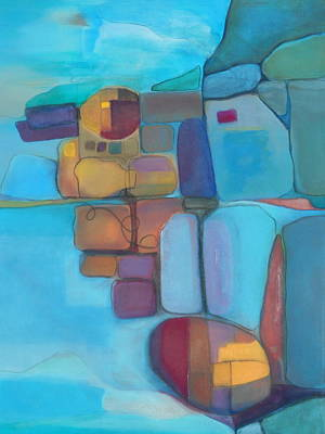 Shift Painting - Transitory Ecosystem Perspective by Danielle Nelisse