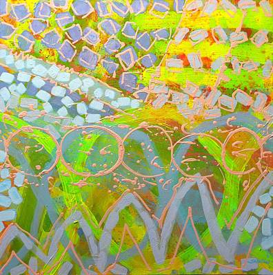 Abstract Expressionism Painting - Translucent Abstract by John  Nolan
