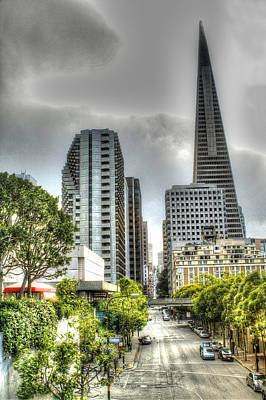 San Francisco Photograph - Transmerica Pyramid From The Embarcadero by SC Heffner