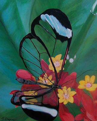 Painting - Transparent Elegance by Sharon Duguay