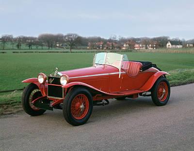 Transport Car 1929 Alfa Romeo Art Print