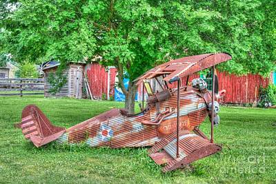 Photograph - Transportation - Airplane -the Missoura Kid by Liane Wright