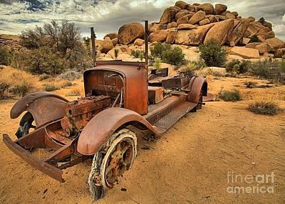 Mining Truck Photograph - Transportation On The Rocks by Adam Jewell