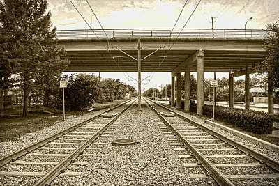 Photograph - Transportation Raillway by Charles Beeler